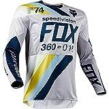 Hombre Mountain Bike Motocross Jersey Camiseta de Manga Larga Traje de...
