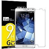 NEW'C Lot de 3 Verre Trempé pour Samsung Galaxy Note 4, Film Protection écran -...