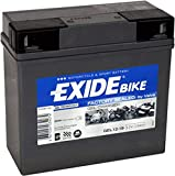 Batterie - 707.26.55 - GEL 519901 EXIDE - Pour la première fois! Technologie de gel pour utilisation moto - que EXIDE Montage avec vis et écrou -