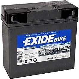 Batterie – 707.26.55 – GEL 519901 EXIDE – Pour la première fois! Technologie de gel pour utilisation moto – que EXIDE…