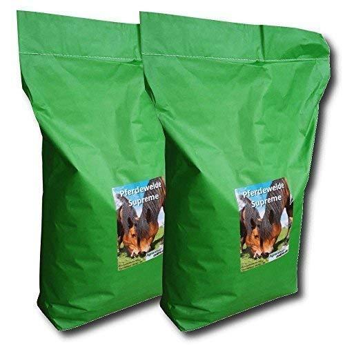 Saatgut Pferdeweide 20 kg Supreme Weidesamen Pferdewiese Weidegras Koppel Samen