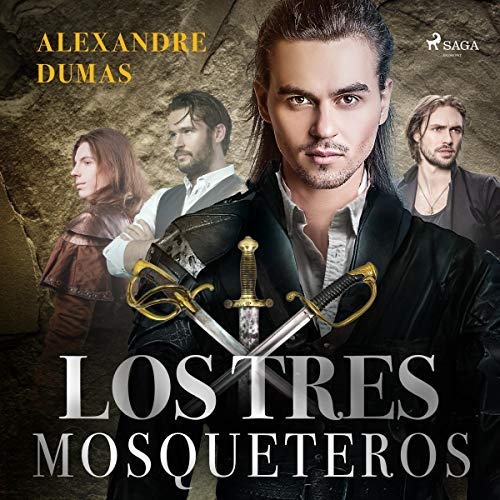 Los tres mosqueteros audiobook cover art