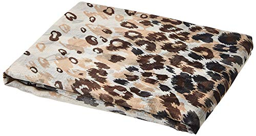 Achim Home Furnishings Kenya Curtain Panel, 50-Inch by 84-Inch, Brow