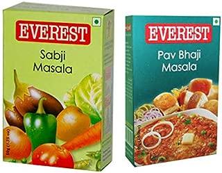 Everest Spices Variety Pack-Sabji Masala 100g/Pav Bhaji Masala-100g