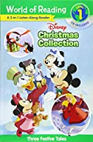 World of Reading Disney Christmas Collection 3-in-1 Listen-Along Reader (Level 1): 3 Festive Tales with CD!