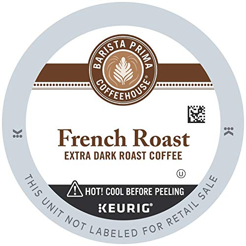 Barista Prima Coffeehouse Coffee, Keurig K-Cups, Dark Roast Extra Bold