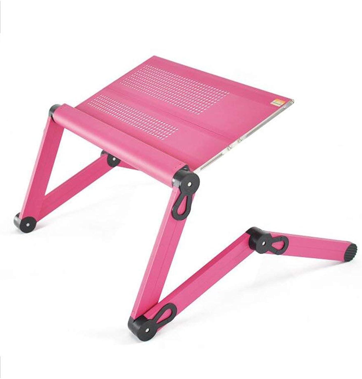 de moda WLG Tabla de projoección Ambiental Ambiental Ambiental para el Medio Ambiente Cama de aleación de Aluminio con Escritorio para computadora portátil Mesa Plegable Lazy Table Can Lift Mesas Mesa de enfriamiento,52cm,B  hasta 60% de descuento