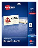 Avery 2' x 3.5' Ivory Business Cards, Sure Feed Technology, for Inkjet Printers, 250 Cards (8376)