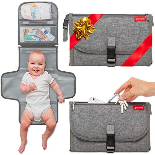 51VFEGjNCEL - Enovoe Portable Diaper Changing Pad