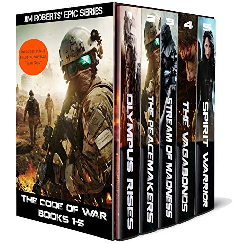 The Code of War: Books 1-5: Includes exclusive novella! by [Jim Roberts]