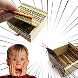 Jlong Scare Box Prank Toys Harmless Best Prank Stuff Shocking Scary Surprise Wooden Box Toys for April-Fools' Day Gift Decoration Party Stage Props