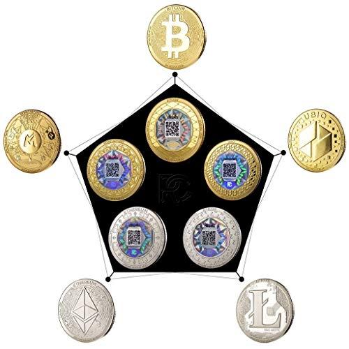 Paquete de colector de Monedas holográficas