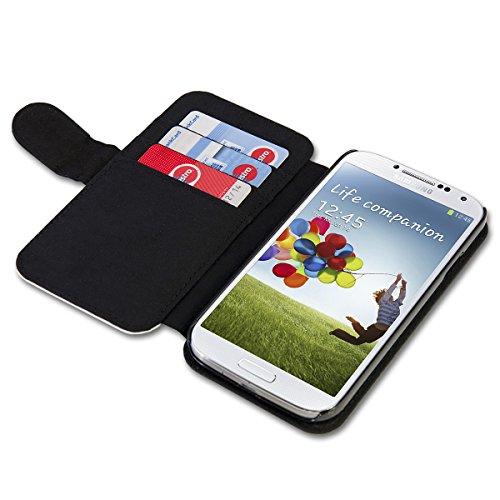 Book Style Flip Handy Tasche Case Schutz Hülle Schale Motiv Etui für Huawei Ascend Y330 - A42 Design11 - 4