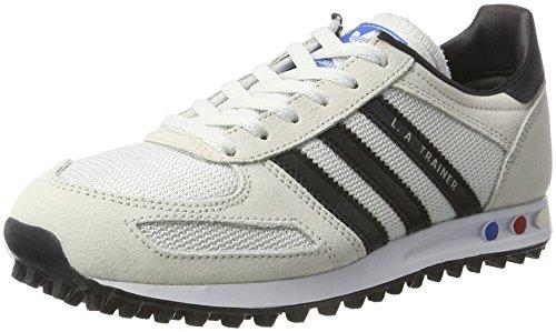 adidas la Trainer J, Scarpe da Ginnastica Unisex – Bambini, Bianco (Vintage White S15-St/Core Black/Clear Brown), 36 2/3 EU