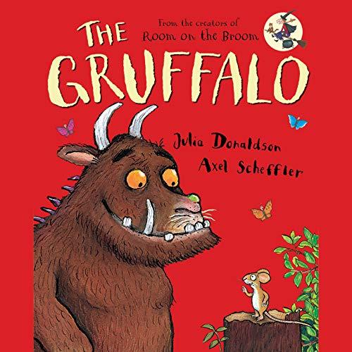 The Gruffalo audiobook cover art