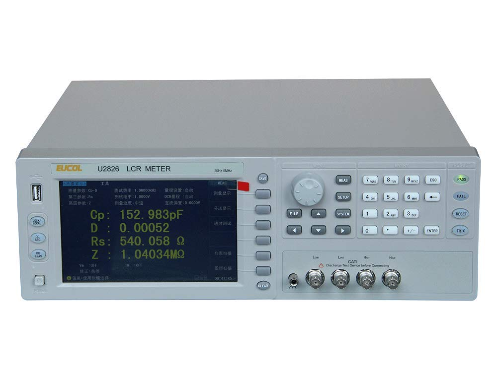 HFCC Fast Spring new work one after another Arrival U2826 High-Frequency -5MHz LCR Meter Now on sale 20Hz with