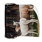 Alpaca Cottages-Alquileres vacacionales de piel de lana estuche de lápiz bolsa linda pluma bolsa con cremallera para papelería, viajes, escuela, suministros para estudiantes