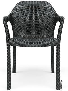 Lechuza Garden Patio Chair, Granite