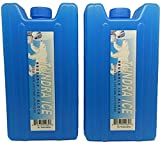 Ice Pack Hidden Secret Booze Alcohol Spirits Flask Two Pack - 14oz Capacity Food Grade Material - Great for Concerts, Festivals and the Beach