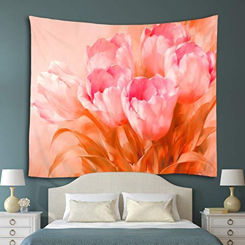 Impresión 3D de tapices Serie de flores Tapiz Rosa Lavanda Impreso Mandala decorativo Tapiz para colgar en la pared Alfombra Manta Toalla de playa Mantel Alfombra de picnic regalo de arte doméstico