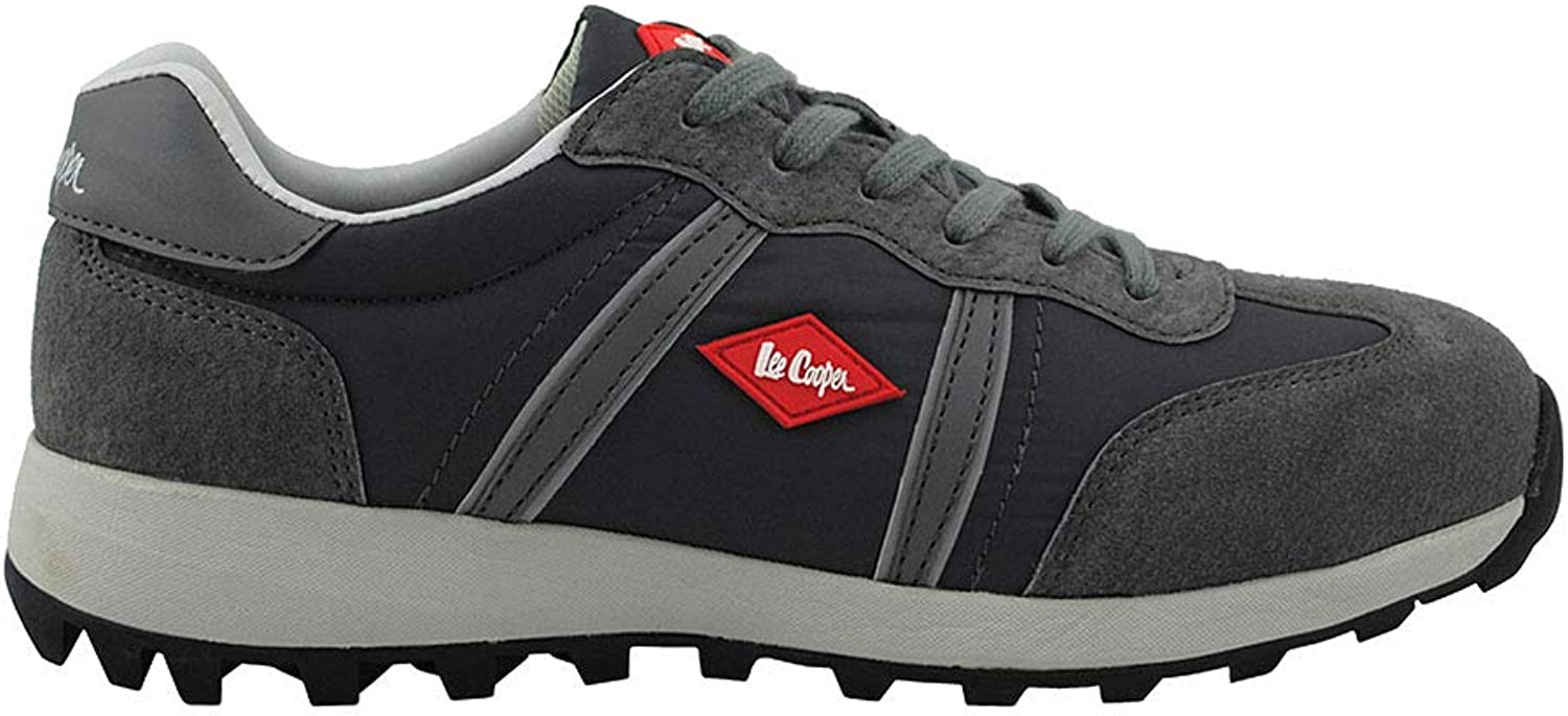 Lee Cooper Workwear LCSHOE112 Workwear Footwear, Size 10, Grey