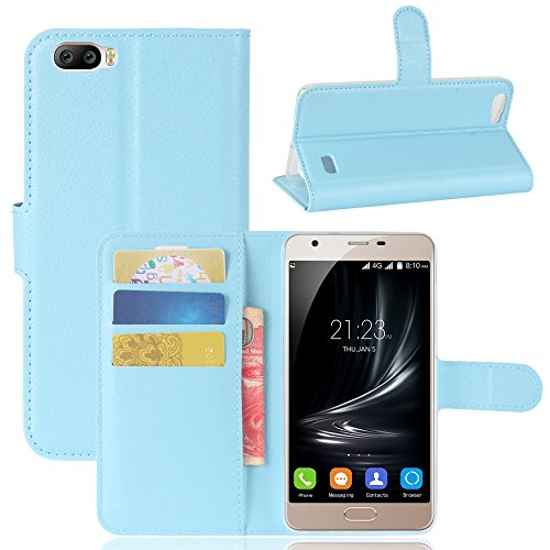 95Street Handyhülle für Blackview A7 Schutzhülle Book Case für Blackview A7, Hülle Klapphülle Tasche im Retro Wallet Design mit Praktischer Aufstellfunktion