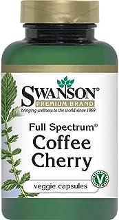 Swanson Full Spectrum Kona Coffee Berry 200 Milligrams 60 Veg Capsules
