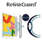 RetinaGuard 2019 iPad 10.4インチ アンチグレア& アンチブルーライトスクリーンプロテクター SGSとIntertekテスト済み 過度の有害なブルーライトをブロックし、目の疲労や目の疲労を軽減します。
