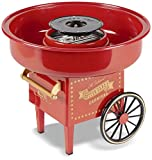 United Entertainment Cotton Candy Maker, Red, 30 x 30 x 25 cm