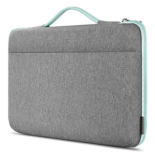 Inateck 16 Inch Laptop Sleeve Case Compatible with MacBook Pro 16 Inch 2019/MacBook Pro 15 Inch 2013-2015/MacBook Pro 15 2016-2019/Surface Book 2/Surface Laptop 3/14 Inch Laptops - Mint green