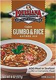 Louisiana Fish Fry, Gumbo w/Rice Mix, 8 oz box (Pack of 12)