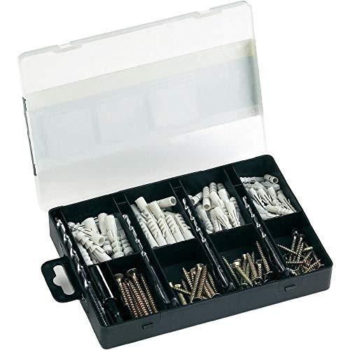 Bosch 2607019511 - Set de fijación práctico con 173 unidades