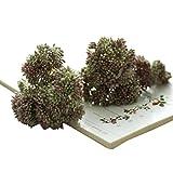 hlhn 2PC Artificial ramo de hortensias flores de seda Hojas para Oficina Hogar Escritorio cuadros...