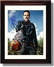 Framed Walking Dead Negan:Lucille Jeffrey Dean Morgan Autograph Replica Print