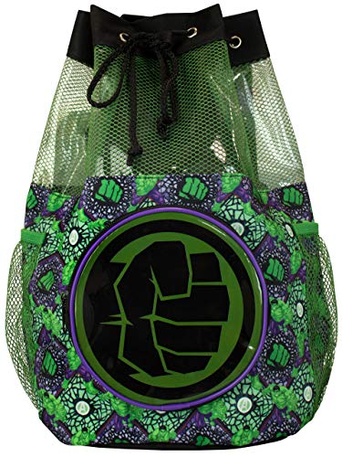 Marvel Bolsa de Natación para Niños Increíble Hulk