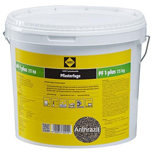 Sakret Pflasterfugenmörtel PF1 Plus (25kg, Anthrazit)