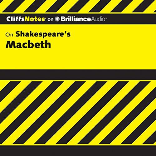 Macbeth: CliffNotes audiobook cover art