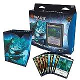 Magic The Gathering Kaldheim Commander-Baraja de Alerta Fantasma (100 Cartas), Color Azul y Blanco (Wizards of The Coast C78081000)