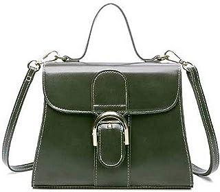 Shoulder Bag Women's Fashion Crossbody Bags Pu SatchelStyle Tote Bags Handbag Clutch (Color : Green)