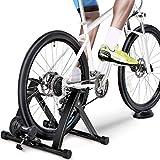 YYDE Indoor Bike Trainer Soporte De Bicicletas De Montaña Montar Bicicleta Plataforma De Rodillos De Formación De Rodillos De Bicicletas (Color: Negro, Tamaño: 26-28Inch)
