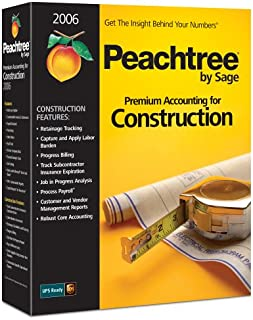 Peachtree Premium Accounting For Construction 2006