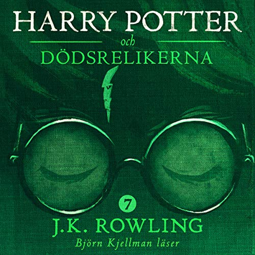 Harry Potter och Dödsrelikerna audiobook cover art