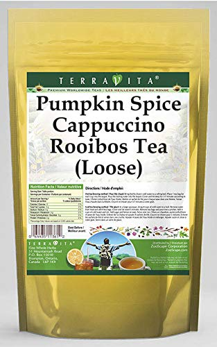 Pumpkin Gifts Spice Cappuccino Rooibos Tea 544498 oz Special price for a limited time Loose 4 ZIN: