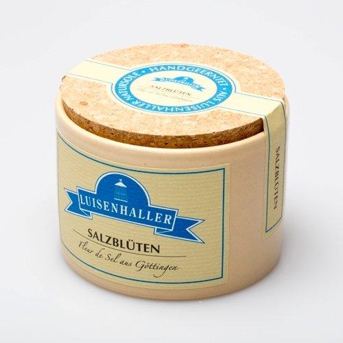 Luisenhaller® Salzblüten - handnummerierte Keramikdose 60g