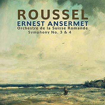 Roussel: Symphony, No. 3 & 4