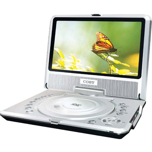 Coby TF-DVD8500 8.5-Inch TFT Portable DVD/CD/MP3 Player with Swivel Screen
