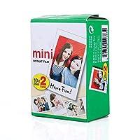 ミニフィルム インスタント カメラチェキフィルム対応 86×54mm/3.5×2.3インチ 20枚セット