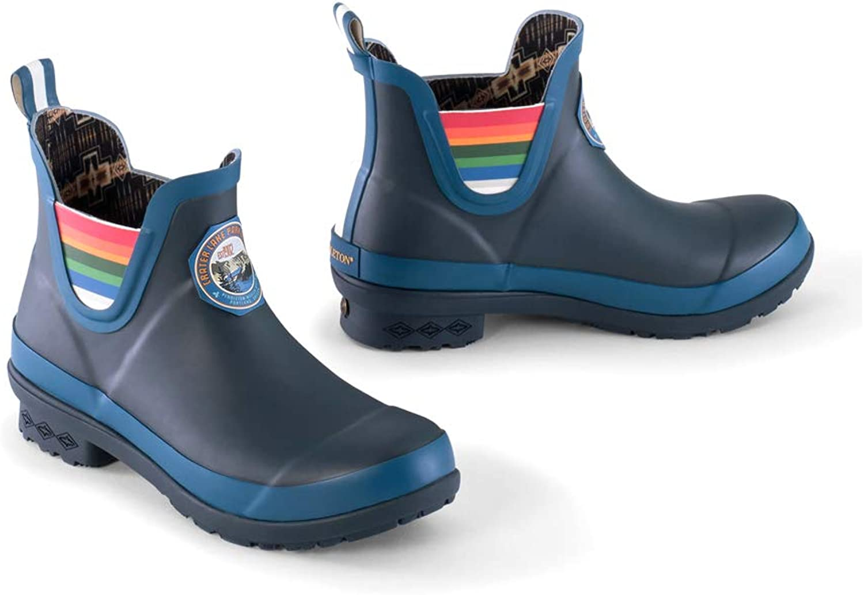Pendlton Crater Lake Ankle Rain Boots bluee