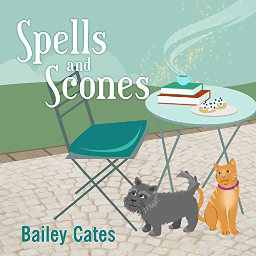 Spells and Scones audiobook cover art