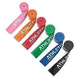 ATHLETIC AESTHETICS Floss Band/Voodoo Band + Tasche und GRATIS Übungsanleitung [1,5mm] für Physiotherapie, Triggerpunktbehandlung und zur Selbstmassage (rot)